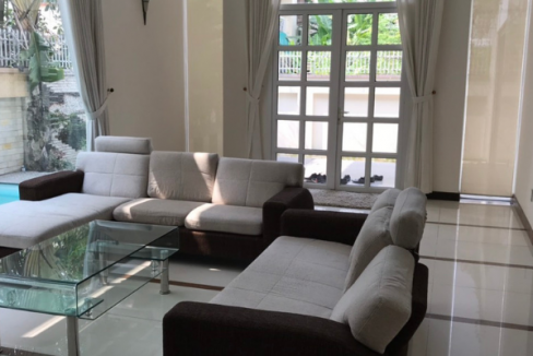7 3 488x326 - Nice villa for rent at Thao Dien