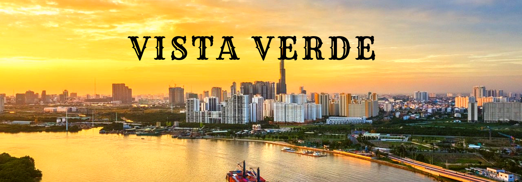 Vista Verde 4 Bedroom Apartment – forever river view to District 1