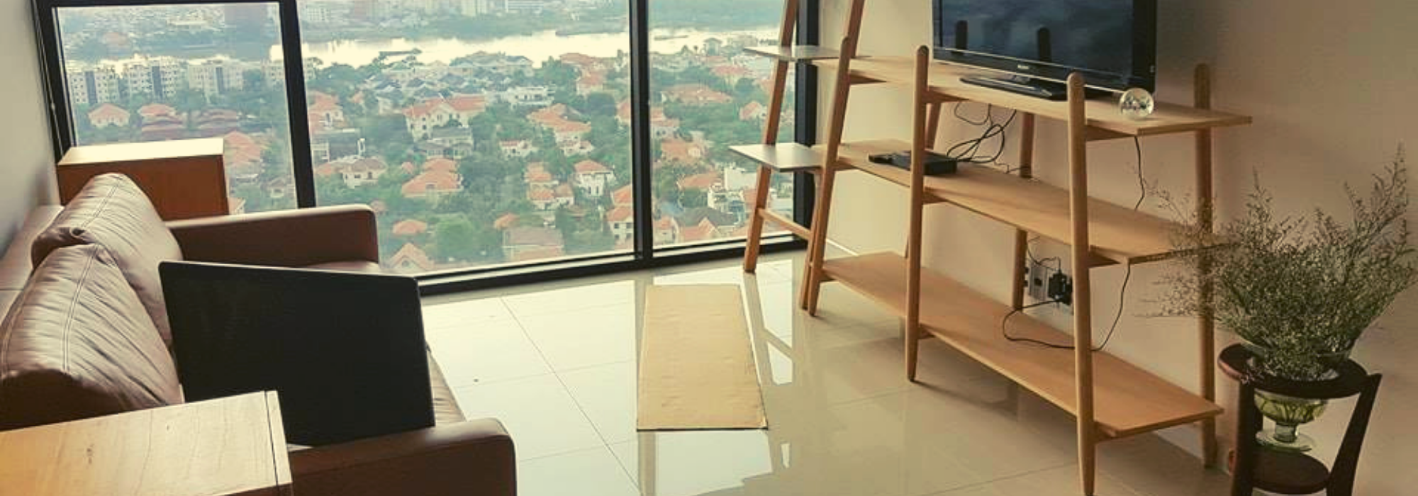 Wonderfull River View at 2 Bedroom Apartment – The Ascent Thao Dien