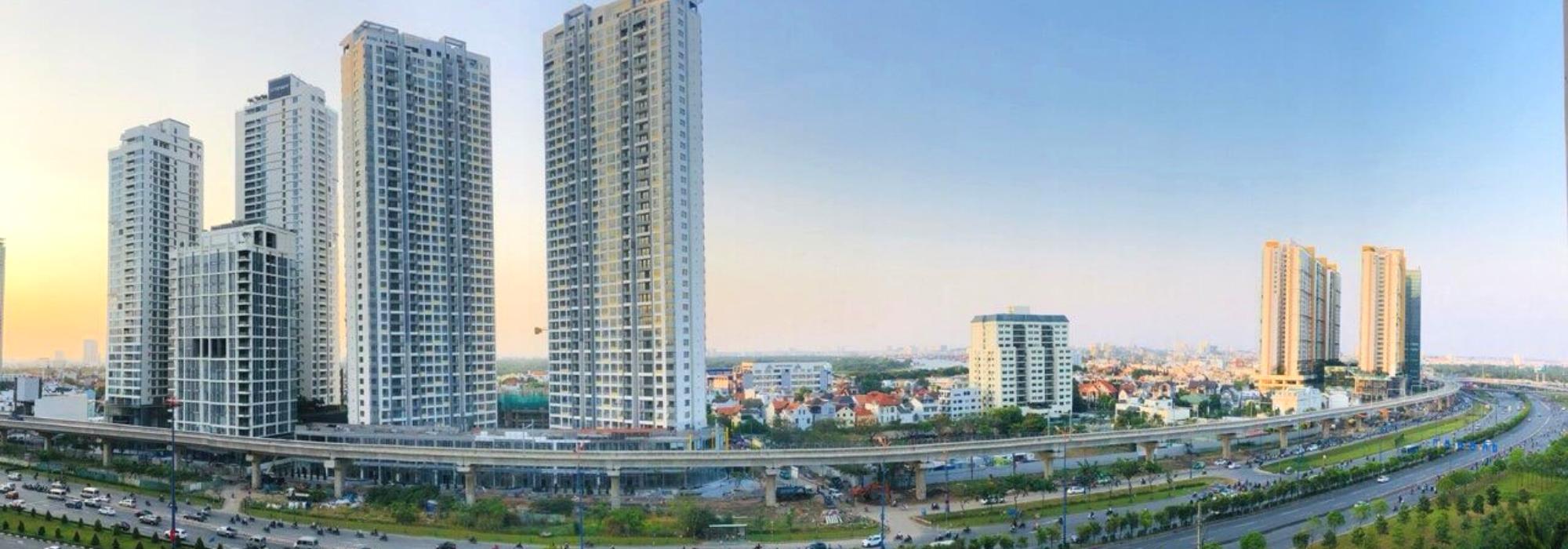 Cho thuê căn hộ một phòng ngủ Estella Height – tầng cao và nội thất cao cấp