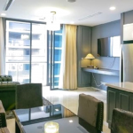 NỀN 3 150x150 - For rent Estella Heights Apartment - 3 bedrooms facing to swimming pool