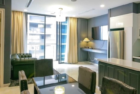 NỀN 3 488x326 - Vinhome Golden River - 2 Bedroom Apartment for rent- Bitexco D1 and River View