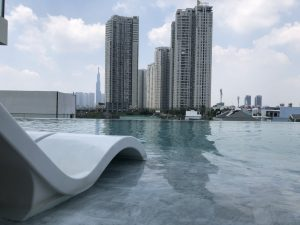 pool 1 300x225 - Căn hộ Gateway Thảo Điền - Căn hộ 1 Phòng Ngủ Nội Thất Cao Cấp View Nội Khu Hồ Bơi Yên Tĩnh