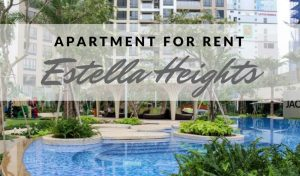 111 300x176 - 2Bedroom For Rent Estella Heights-View Quiet & Airy