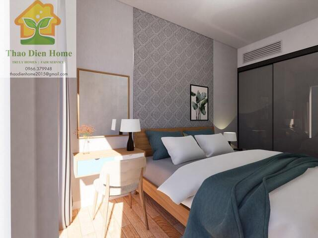 Gateway Thao Dien Apartment, Spacious And Beautiful 1 Bedroom