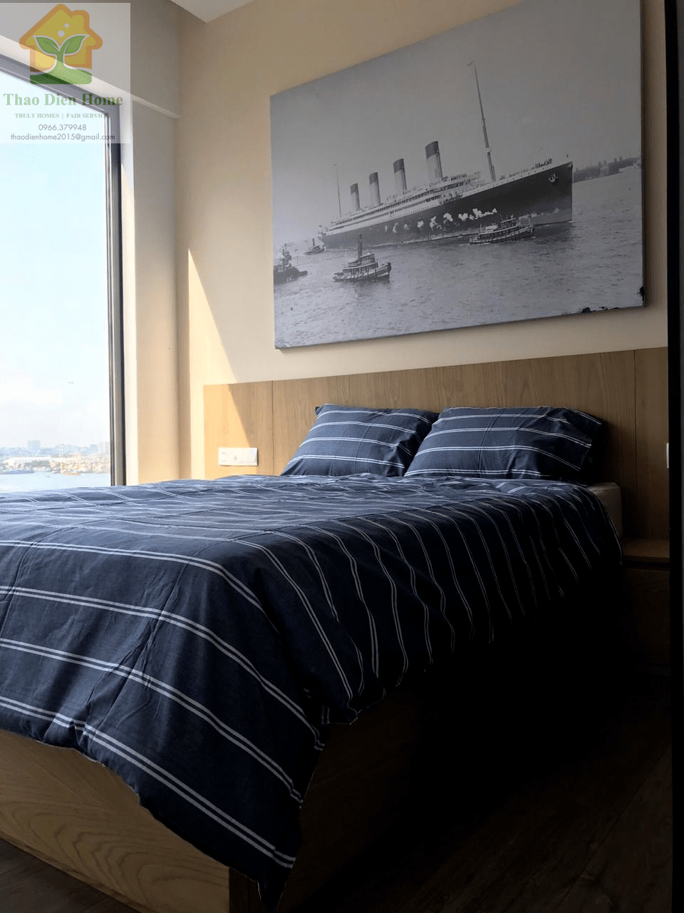 Gateway Thao Dien Apartment – Sophisticate And Elegant 2 Bedrooms Apartment.