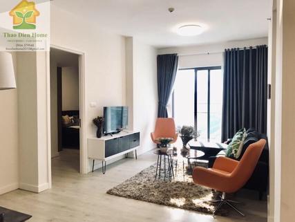 Gateway Thảo Điền – Căn hộ 2 phòng ngủ – Thiết kế hiện đại phong cách Châu Âu
