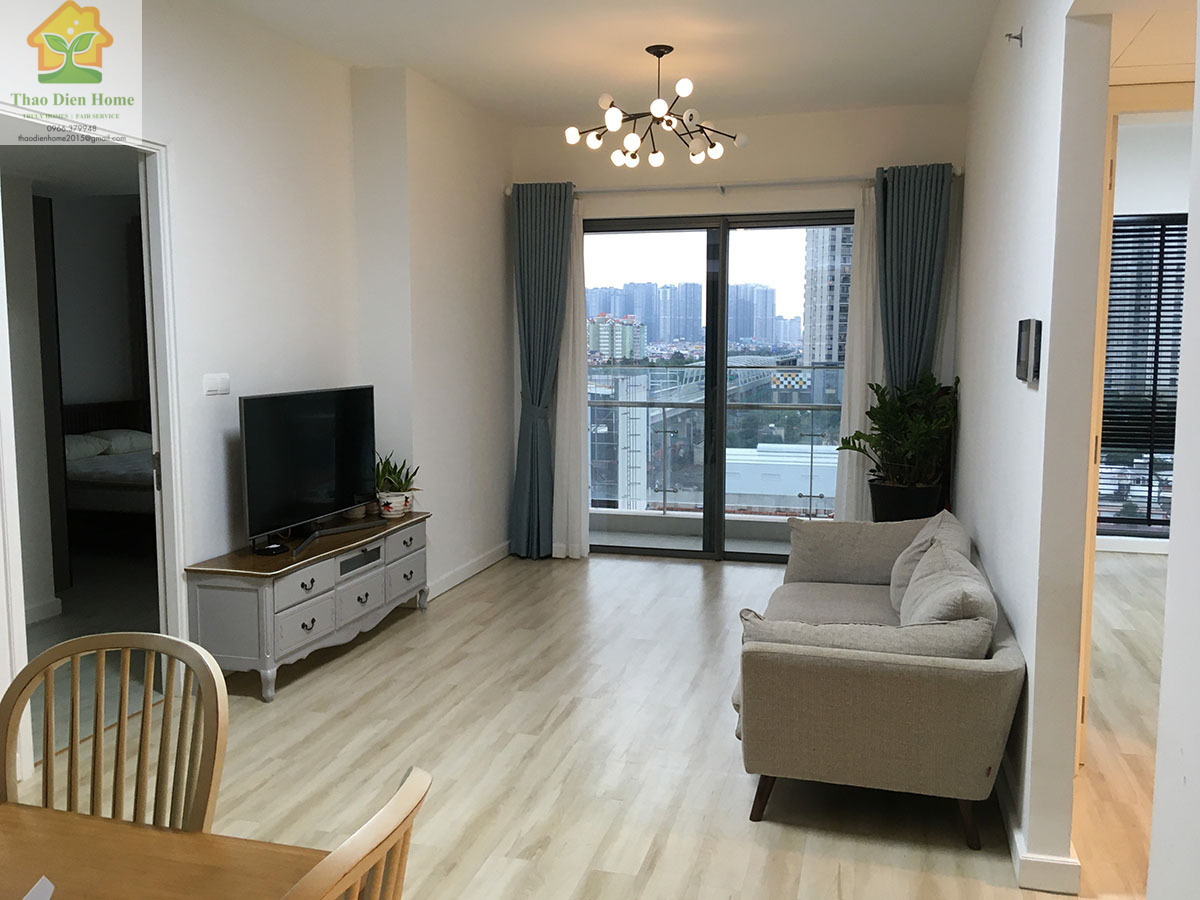 Gateway Thao Dien Apartment, Nice And Attractive Styled Interior for 2 Bedrooms