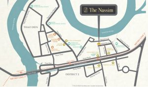the nassim location 300x177 - The Nassim Thao Dien