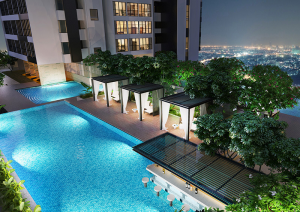 tiện ích 4 300x212 - Penthouse 4 Bedroom Sale The Ascent-Luxury Classic Style