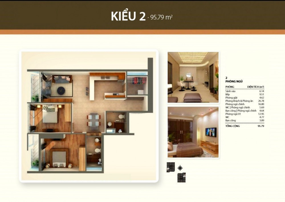 2br style 2 - Thao Dien Pearl