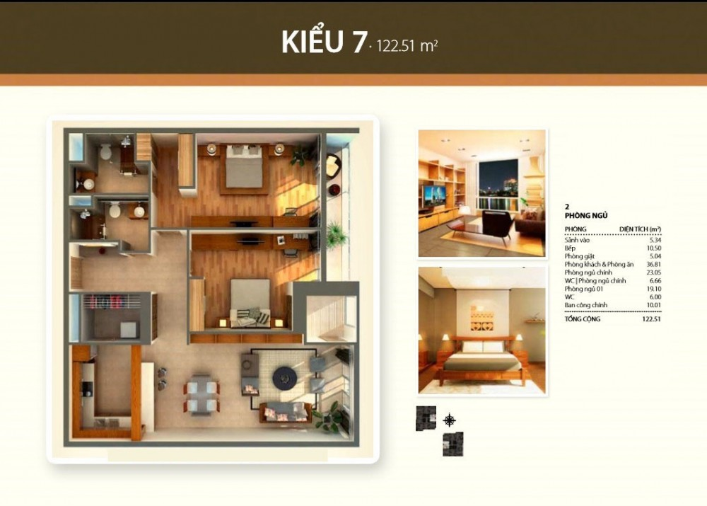 2br style 7 - Thao Dien Pearl