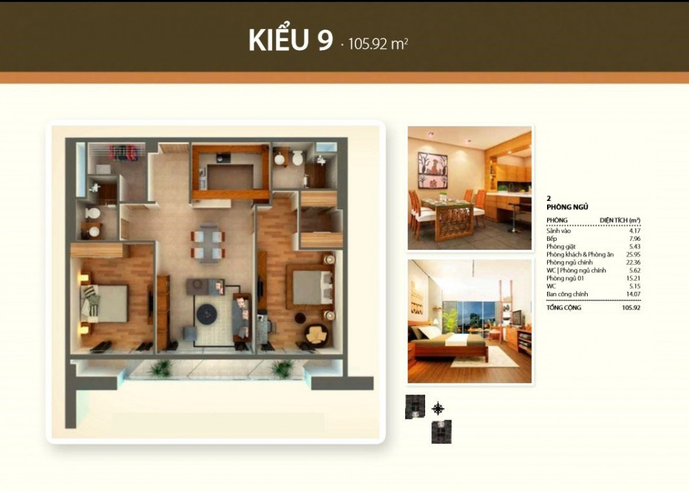2br style 9 - Thao Dien Pearl
