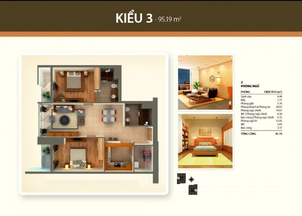 2br style3 - Thao Dien Pearl
