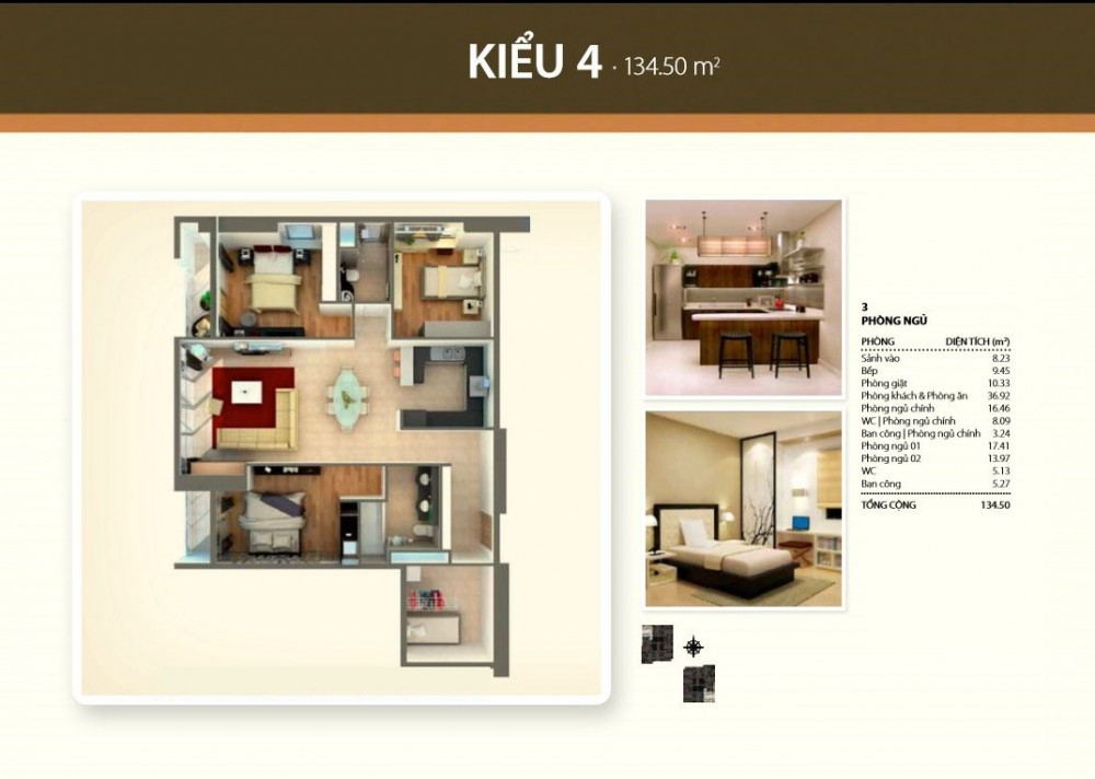 3 br style 4 - Thao Dien Pearl