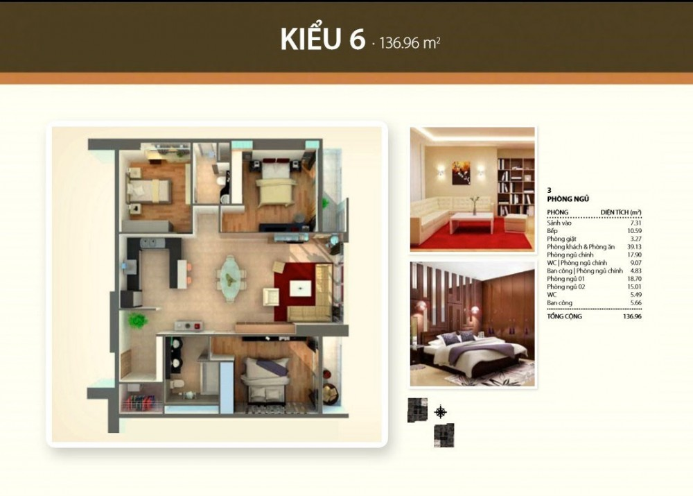 3br style 6 - Thao Dien Pearl