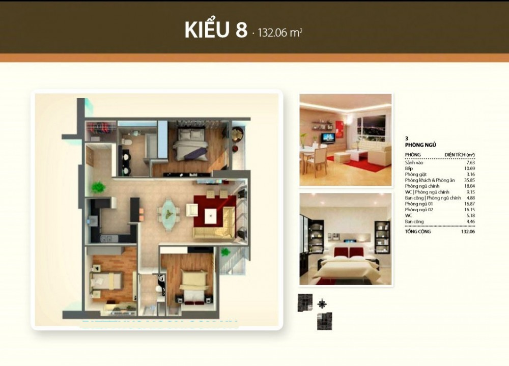 3br style 8 - Thao Dien Pearl