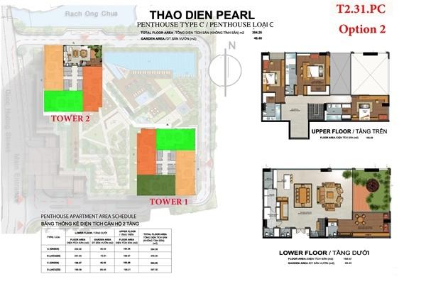Penthouse Thao Dien Pearl - Thao Dien Pearl