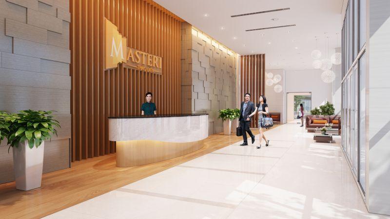Receptionist lobby - Masteri Thao Dien