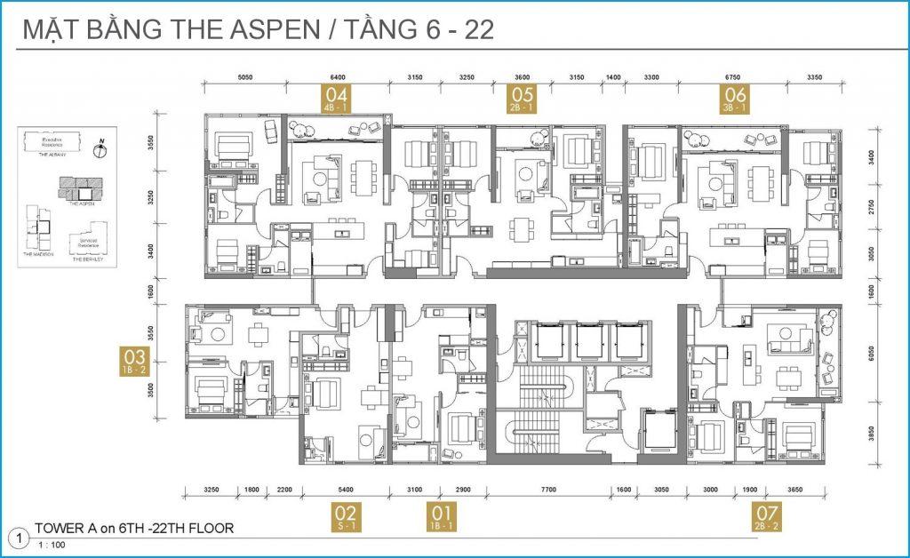 as floor 6 22th - Gateway Thao Dien
