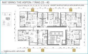 aspen floor 23 40 300x184 - GATEWAY THAO DIEN