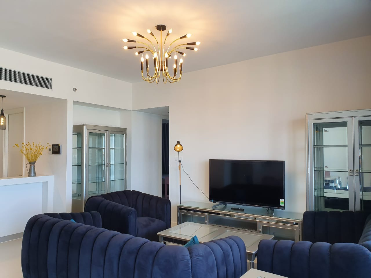 Gateway Thao Dien, Stunning View, Spacious And Nice Interior 4 Bedrooms Apartment