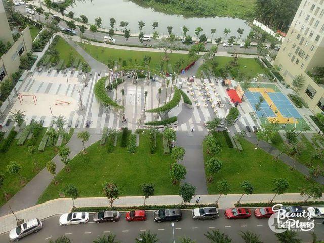 green park and basketball yard - Masteri Thao Dien