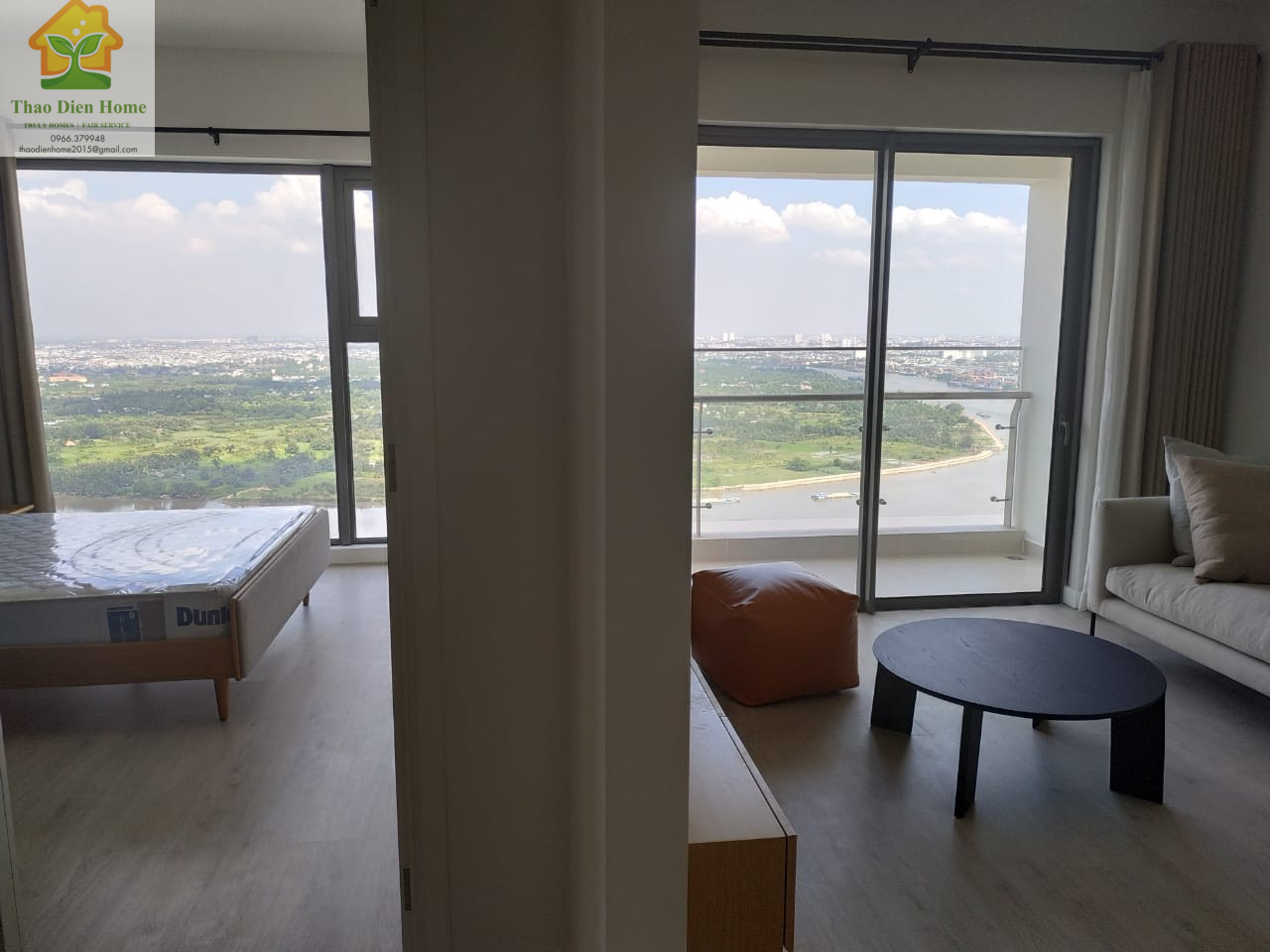 Gateway Thao Dien, Stunning River View for 2 Bedrooms Apartment