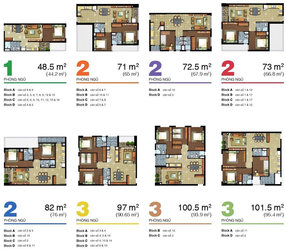 layout - Lexington Residence