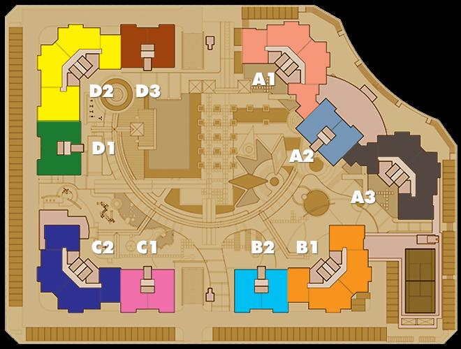 mặt bằng tổng thể - Imperia An Phu