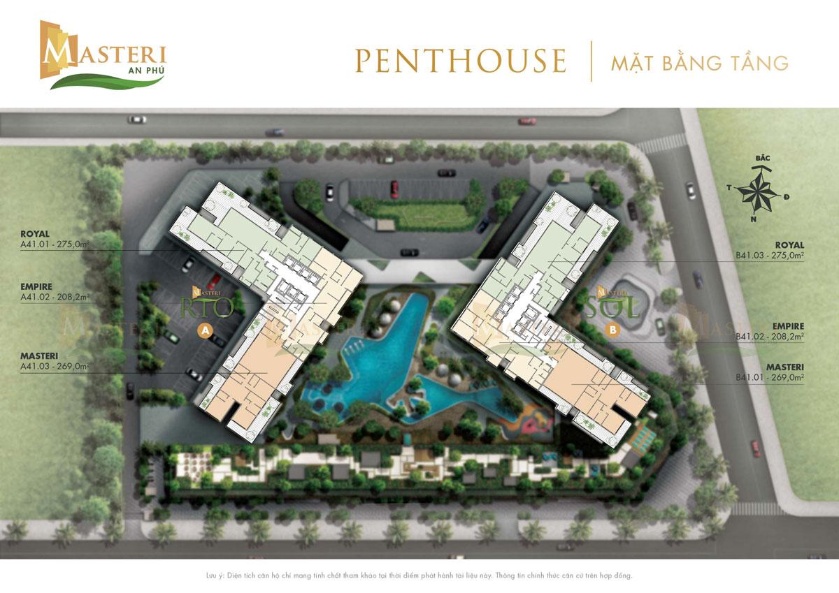 mat bang Penthouse masteri an phu 1 - Masteri An Phu
