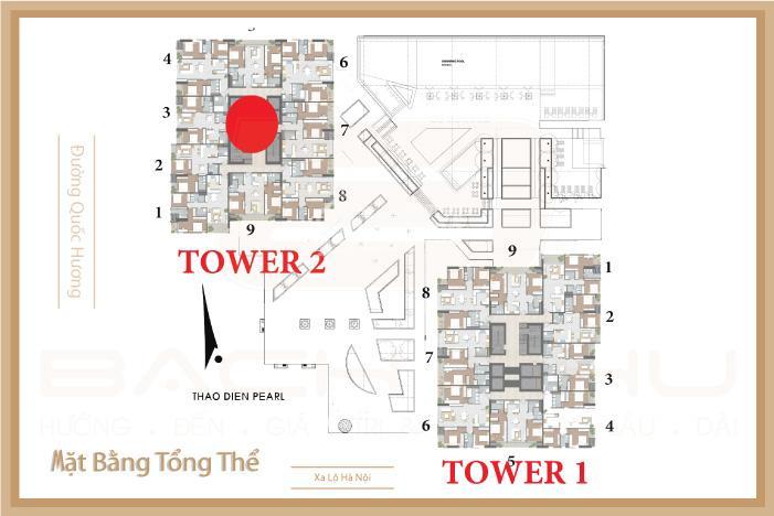mat bang tong the - Thao Dien Pearl