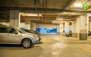parking area 300x188 - Tropic Garden
