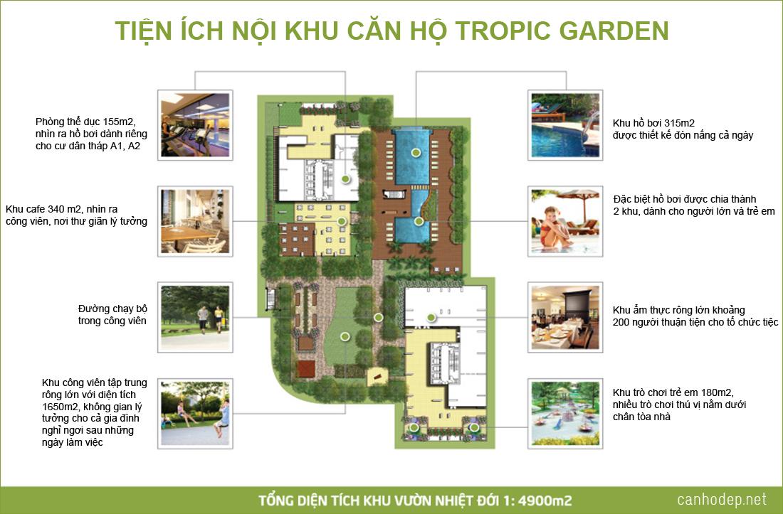 tien ich noi khu tropic garden - Tropic Garden