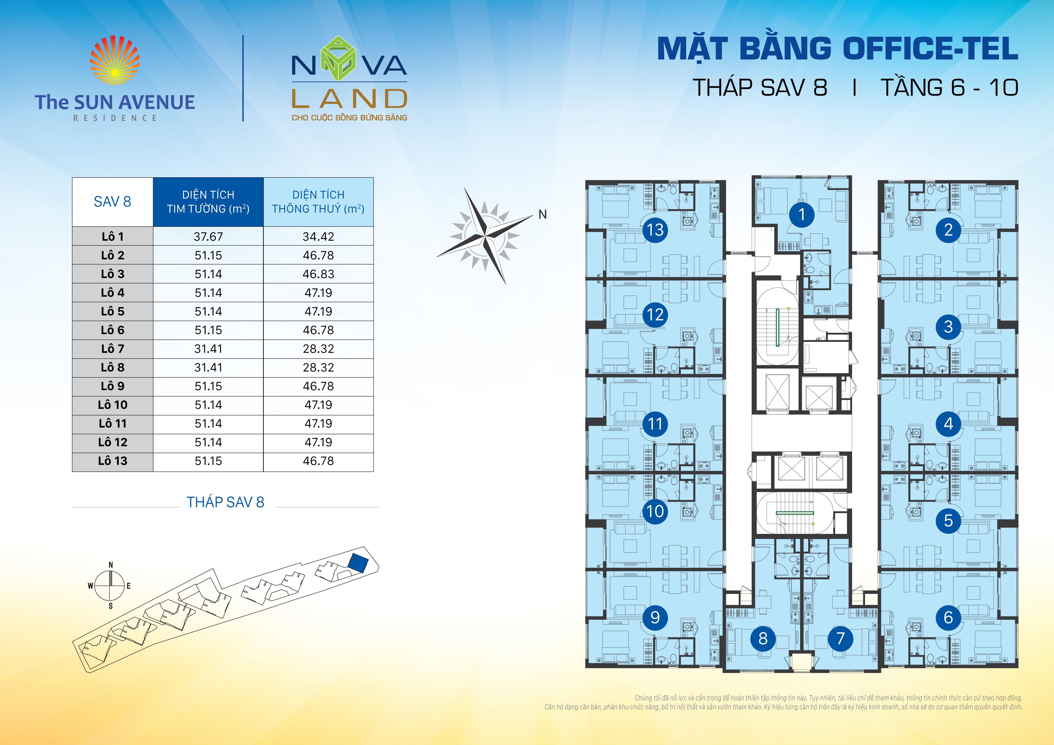 OT Sav 8 Floor 6 10 - The Sun Avenue