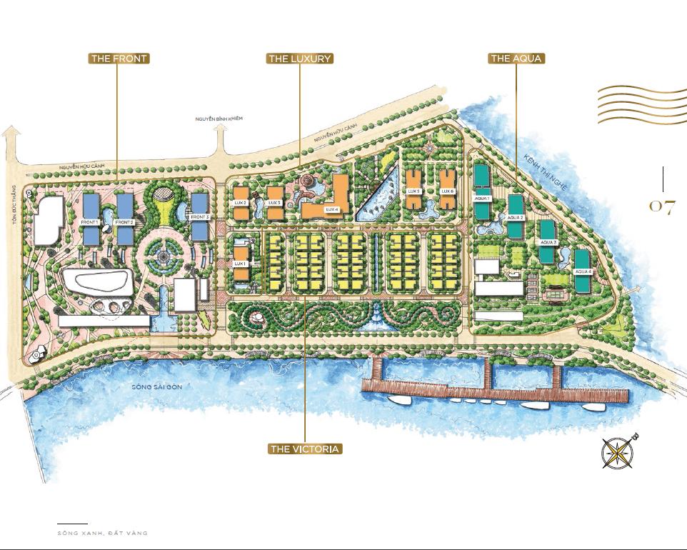 master plan 2 - Vinhomes Golden River