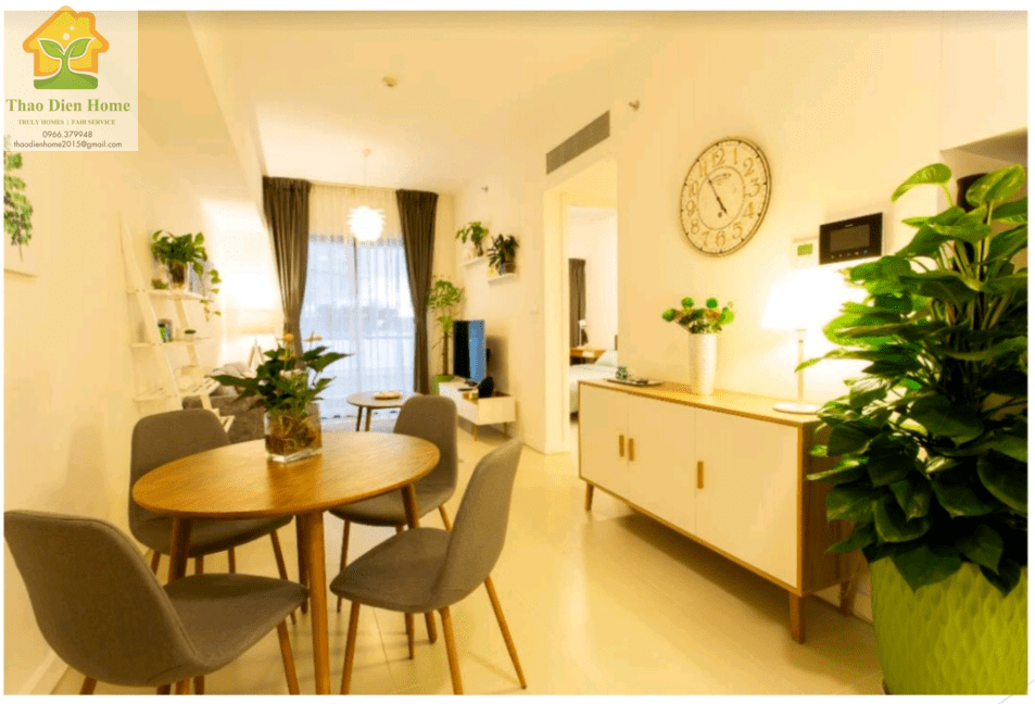 Cozy 1 Bedroom Aparment in Gateway Thao Dien