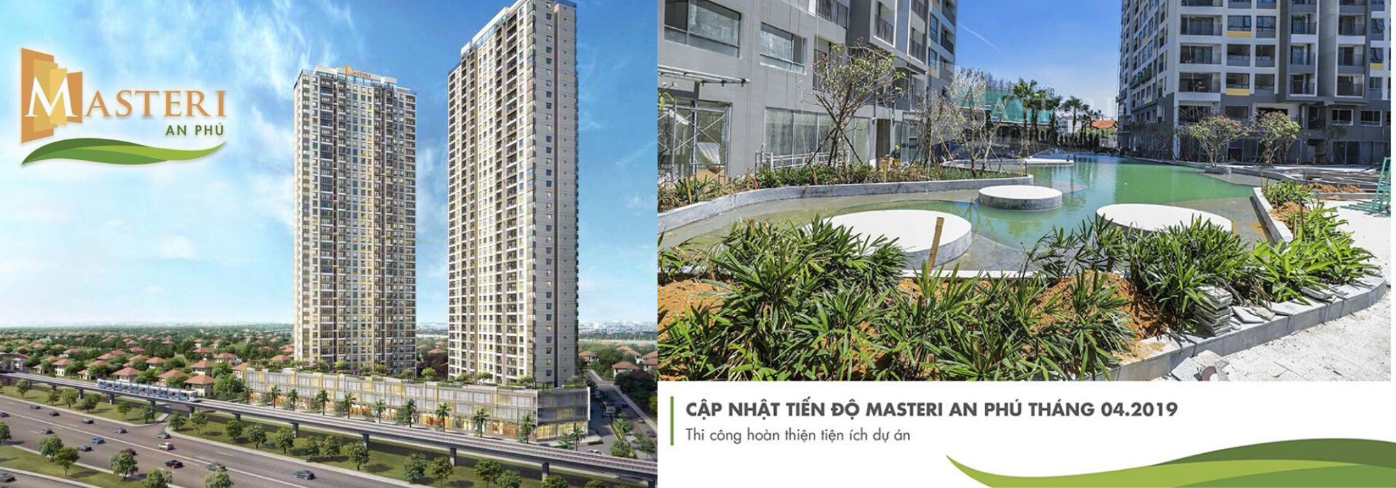 MASTERI AN PHU – 2 bedrooms with modern style